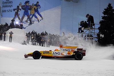 Формула 1 на снегу