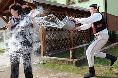 Пасхальные празднования в Словакии