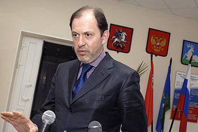 Митволь подал документы на пост главы Одинцовского района