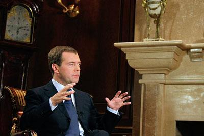 Президент России дал интервью центральному телевидению Китая