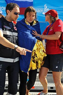 Лариса Ильченко снялась с заплыва на чемпионате мира в Риме