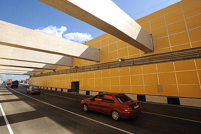 В Москве открылось движение по Волоколамскому тоннелю
