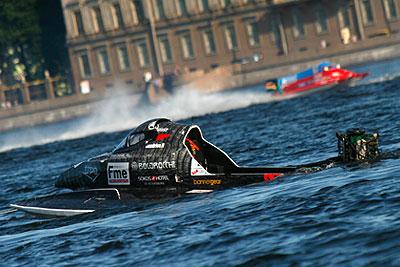"""Этап чемпионата мира """"Формулы-1"""" на воде в Санкт-Петербурге"""