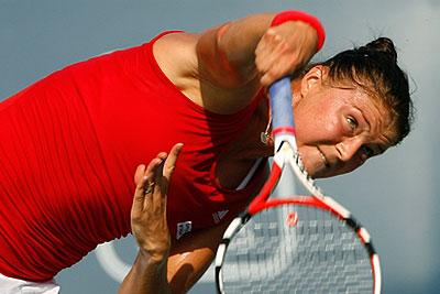 Динара Сафина проиграла в финале турнира WTA Янкович