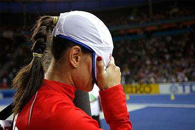 Елена Исинбаева не справилась с начальной высотой 4.75 метров