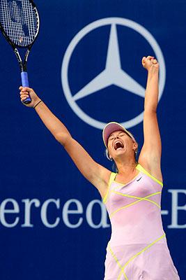 Шарапова вышла в 3-й круг турнира в Пекине