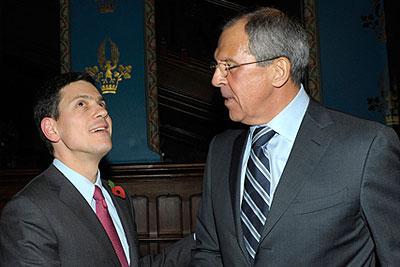 Встреча глав МИД России и Великобритании в Москве