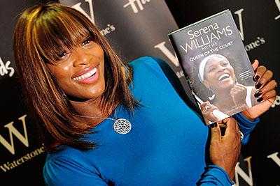 Серена Уильямс представила свою автобиографическую книгу