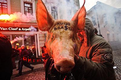 "Марш активистов левой оппозиции ""Антикапитализм-2009"""