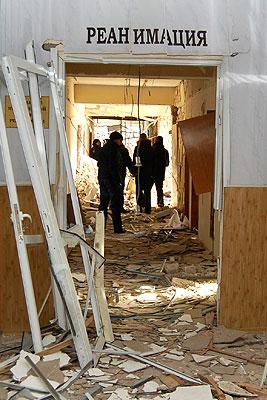 Взрыв в луганской больнице