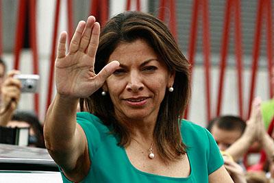 Президентом Коста-Рики стала женщина