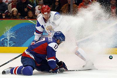 Российские хоккеисты проиграли Словакии на Олимпиаде
