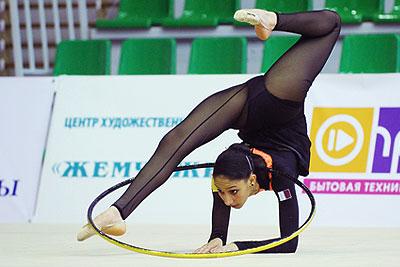 Пятый этап Кубка мира по художественной гимнастике в Санкт-Петербурге