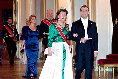 Официальный визит президента РФ в Норвегию