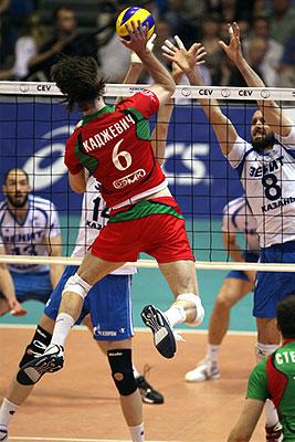 Финальная серия плей-офф чемпионата России по волейболу