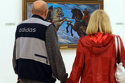 Выставка новых работ художника Ильи Глазунова