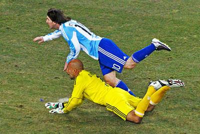 ЧМ по футболу 2010: Аргентина - Мексика