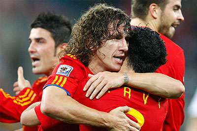Испания вышла в финал Чемпионата мира по футболу