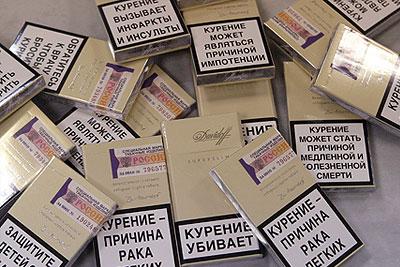 Предупреждающие надписи появились на пачках сигарет