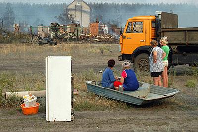 Лесные пожары добрались до Воронежа