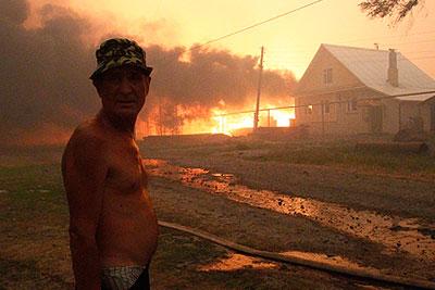 Лесные пожары захватили Россию