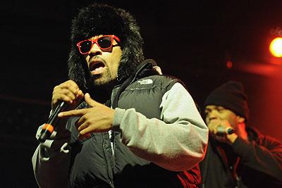 Выступление американских рэперов Method Man и Redman