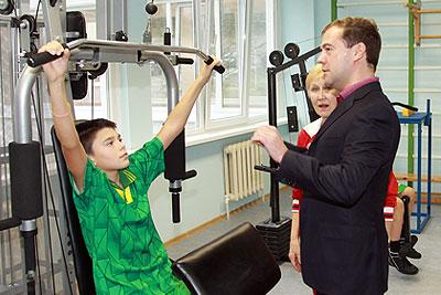 Рабочая поездка президента России в Краснодарской край