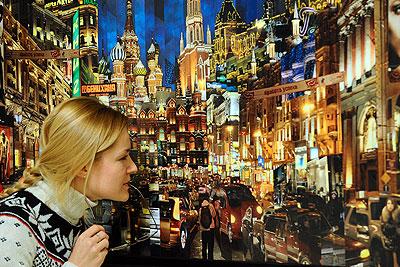 Предаукционный показ картин русских художников XX века