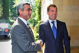 В Армении ждут российского президента