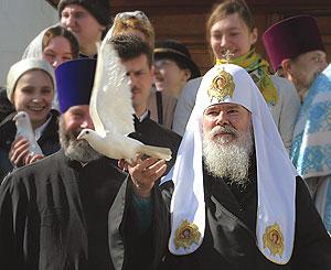 Скончался Алексий II. Архивные фото