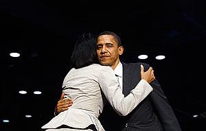 Афроамериканцы помогли Обаме одержать очередную победу