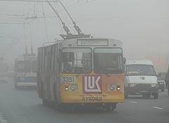Туман в Москве рассеивается