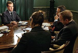Медведев рассказал о деле ТНК-ВР