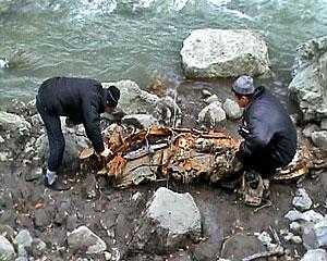 Чьи останки найдены в Кармадонском ущелье