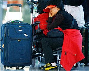 Багажный коллапс знаменитого аэропорта