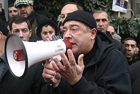 Грузинская оппозиция против СНГ и миротворцев