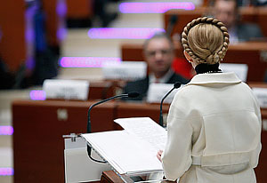 Тимошенко видит Украину без президента