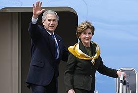 Сочинский уик-энд Буша начался