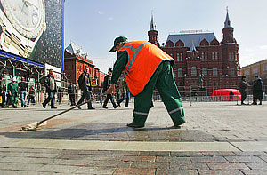 Москва входит в зону аномального тепла