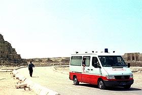 В Египте сгорел автобус, в котором были россияне