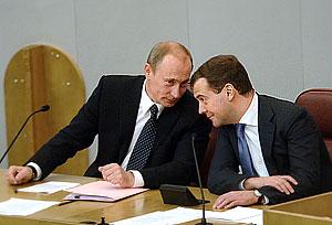 Тандем Путина и Медведева упрочился