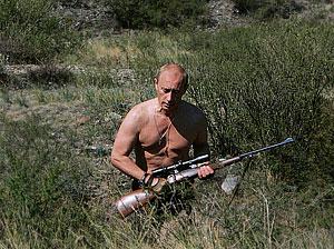 Владимир Путин в лучших фотографиях