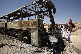 В Египте погибли шесть россиян. Фото с места событий