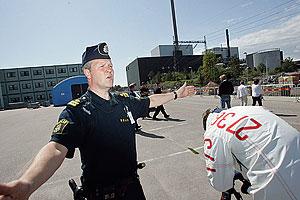 Угроза теракта в Швеции