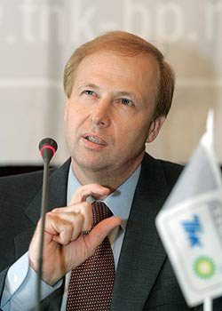 Российские акционеры ТНК-ВР требуют отставки Дадли