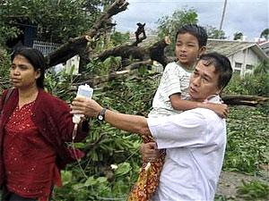 Выжить в Мьянме. Фото из зоны бедствия