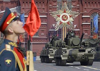 Парад Победы в Москве. Фото