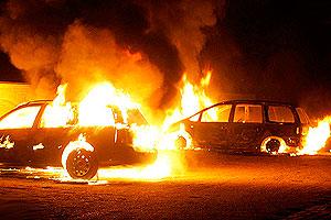 Поджоги машин: версии и фоторобот