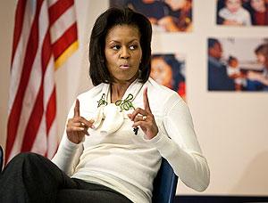 Обычный день Мишель Обамы. Фото
