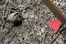 Кассетные бомбы как доказательство вины